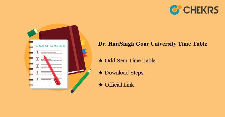 Dr Harisingh Gour University Time Table