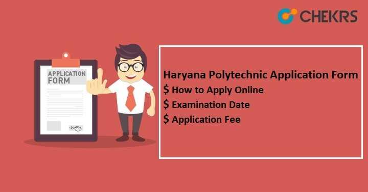 Haryana Polytechnic (DET) Application Form