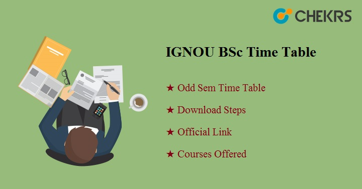 IGNOU BSc Time Table Dec 2019