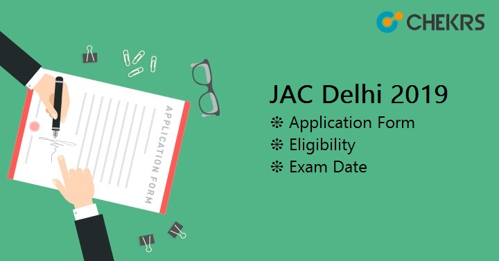 JAC Delhi Application Form