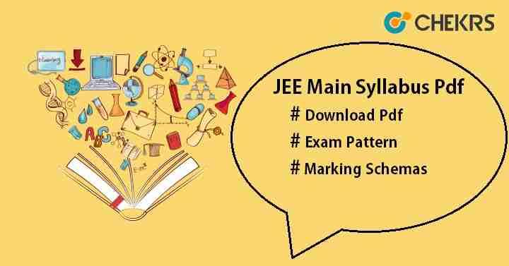 JEE Main Syllabus Pdf