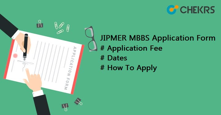 JIPMER MBBS Application Form How To Apply