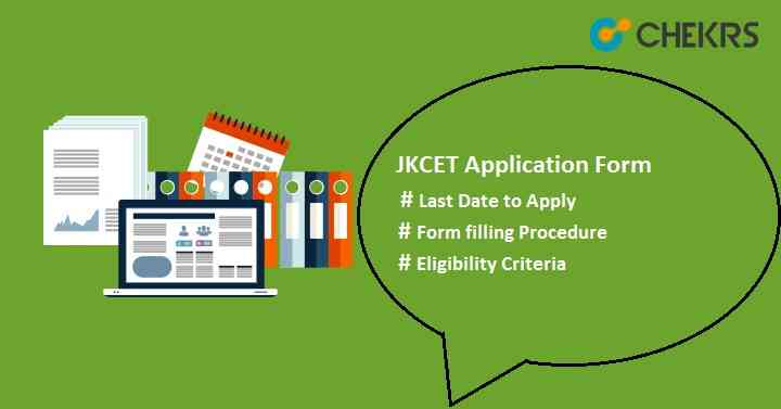 JKCET Application Form