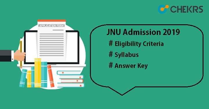 JNU Admission 2019