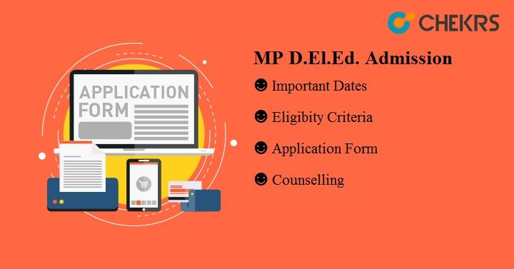 MP D.El.Ed Admission 2018-19
