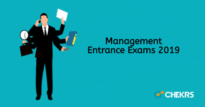 Management Entrance Exams Admission Test for B School MBA, BBA Courses