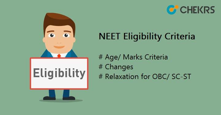 NEET Eligibility Criteria Changes