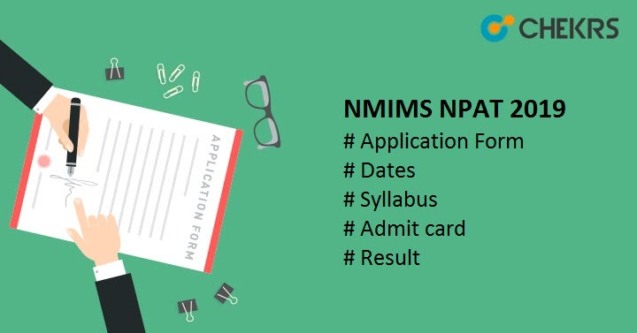 NMIMS NPAT Application Form
