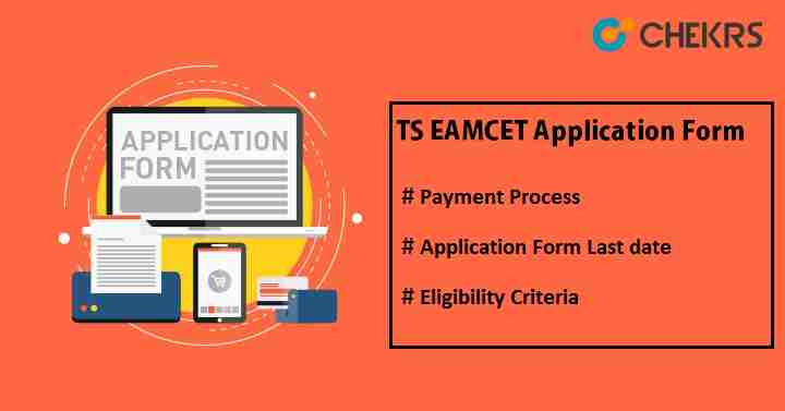 TS EAMCET Application Form 2021