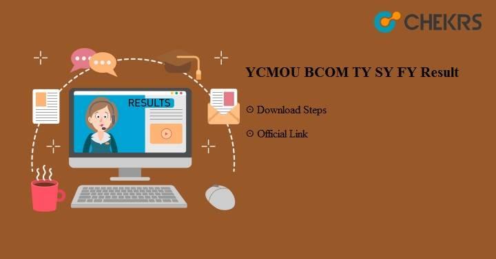 YCMOU BCOM TY SY FY Result