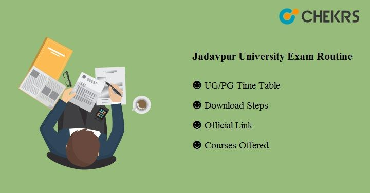 jadavpur university exam routine