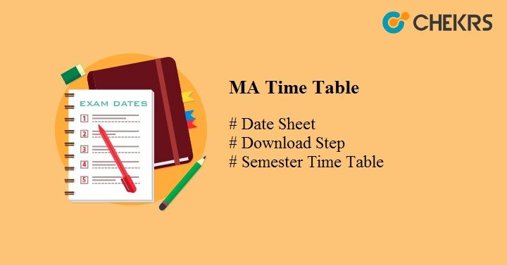 ma time table