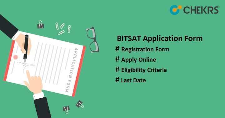 bitsat application form