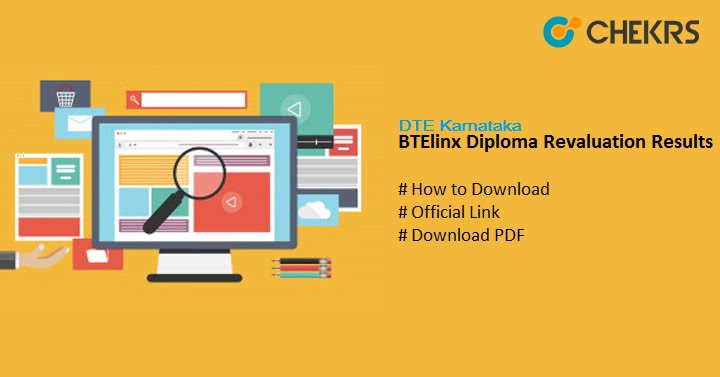 BTElinx Diploma Revaluation Results DTE Karnataka