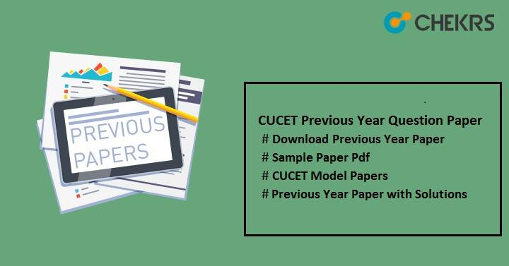 cucet previous year question paper