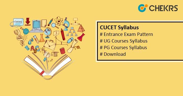 CUCET Syllabus Exam Pattern