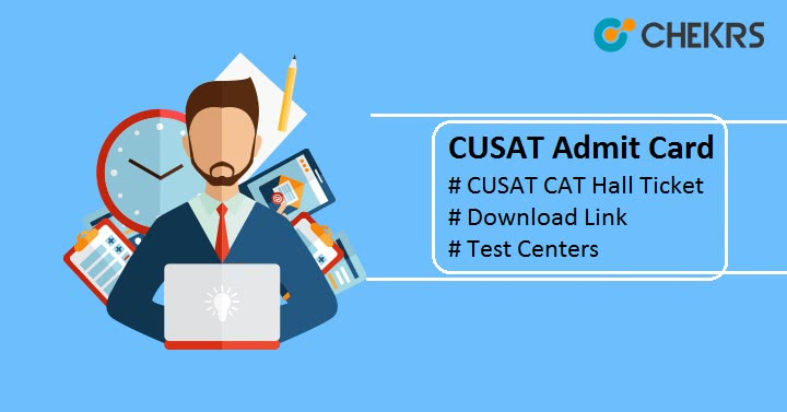 CUSAT Admit Card CUSAT CAT Hall Ticket