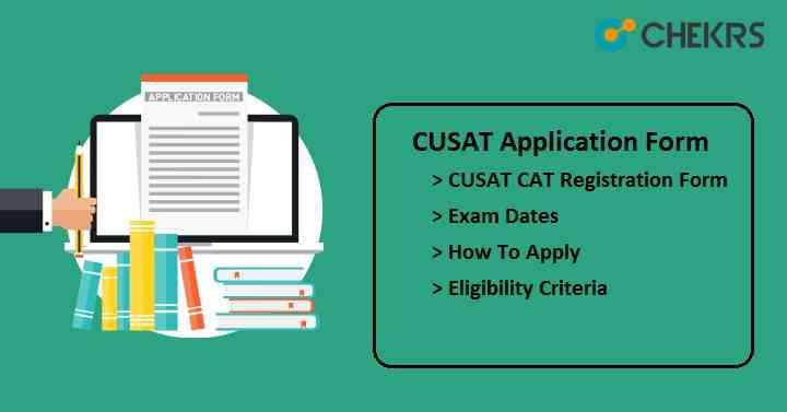 cusat application form