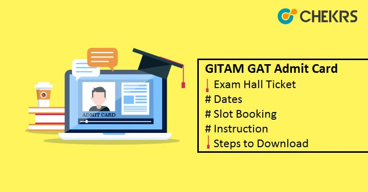 GITAM GAT Admit Card Hall Ticket