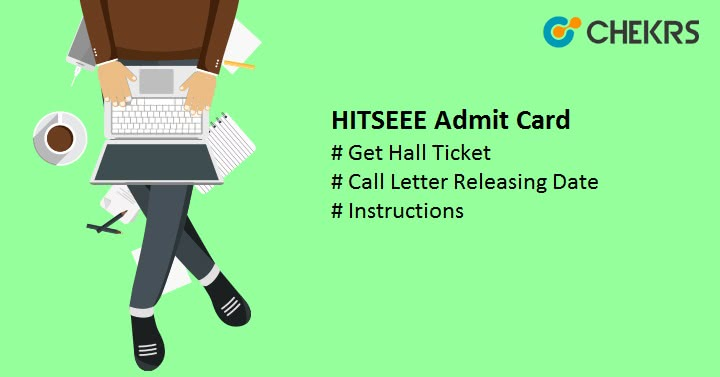 HITSEEE Admit Card Hall ticket