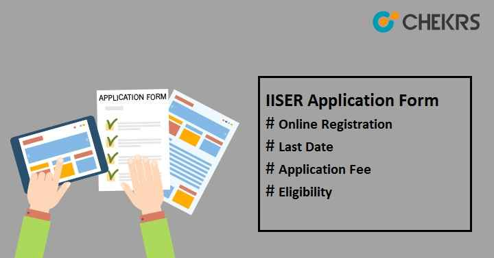 iiser application form