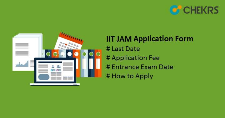 IIT JAM Application Form