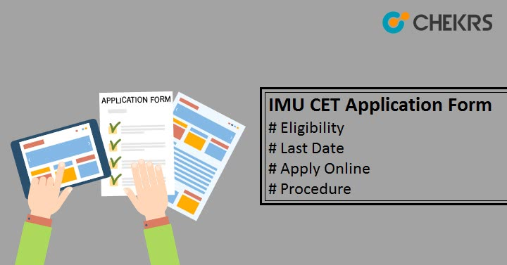 IMU CET Application Form Apply Online