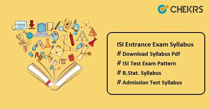 isi entrance exam syllabus