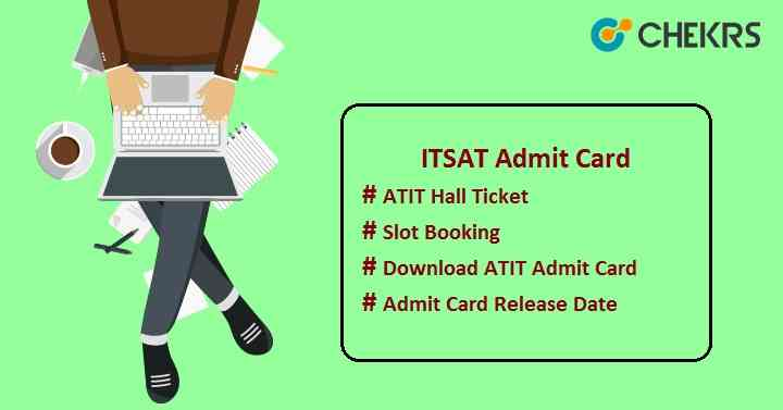 itsat admit card
