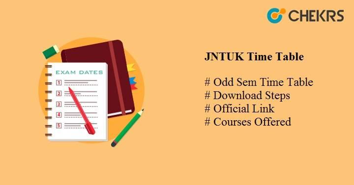 jntuk time table