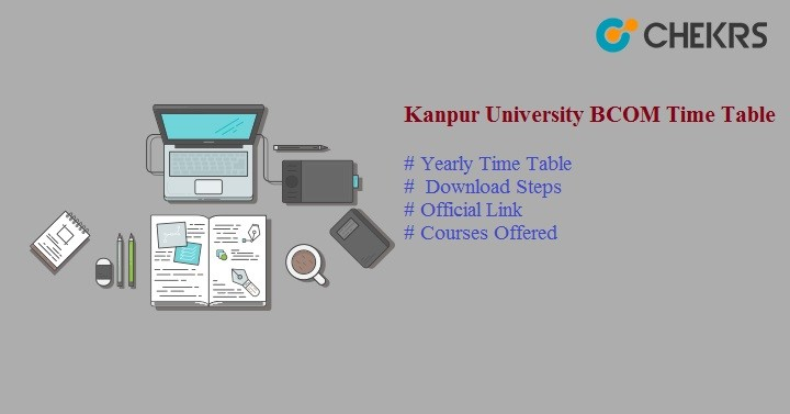 kanpur university bcom time table