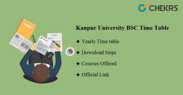 kanpur university bsc time table