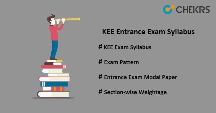 kee entrance exam syllabus