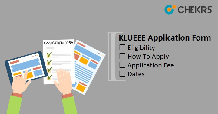 KLUEEE Application Form Apply Online