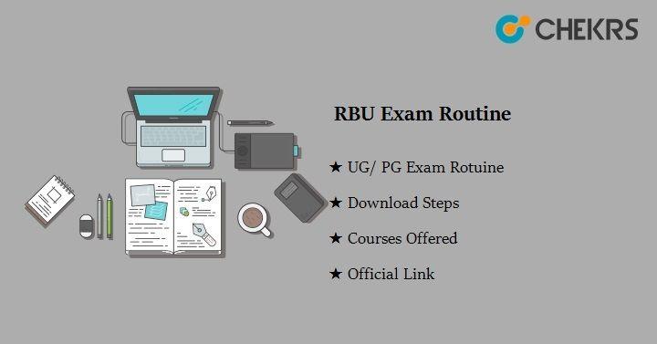 rabindra bharati university exam routine