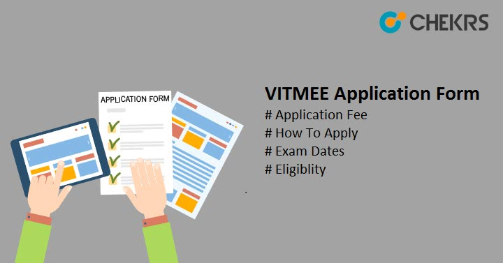 VITMEE Application Form How To Apply